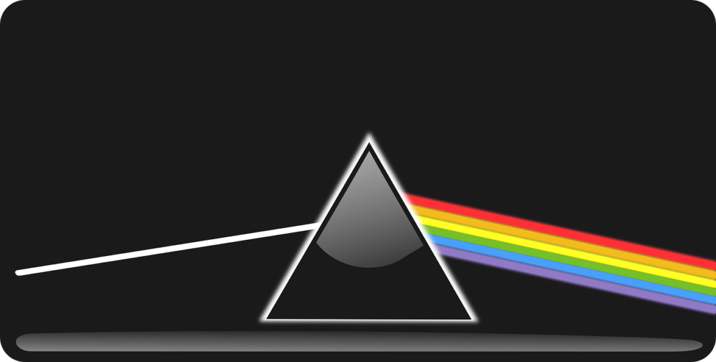 What are the seven rainbow colors?